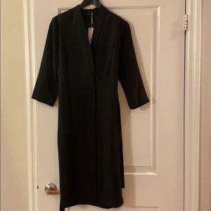 Cos belted black dress size 8